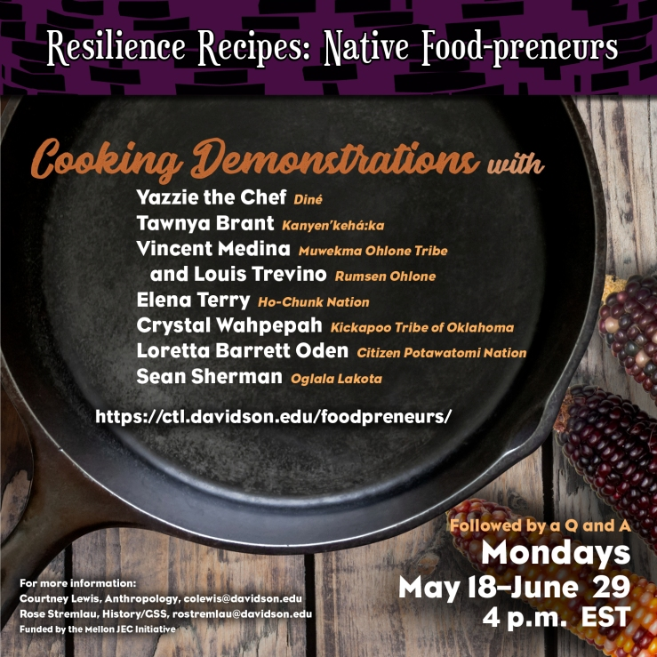 Resilience Recipes-Native Food-preneurs-SERIES 1080x1080 digital